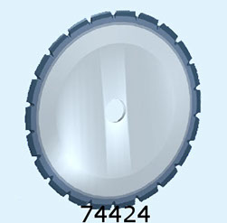 Seafood Circular Blade 74424 | Nessco Industries